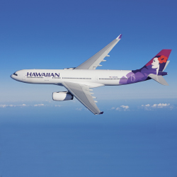Travelers can fly nonstop from LAX to Kauai and Hawaii Island next year. // © 2013 Hawaiian Airlines