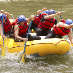 White water rafting // © 2013 Thinkstock