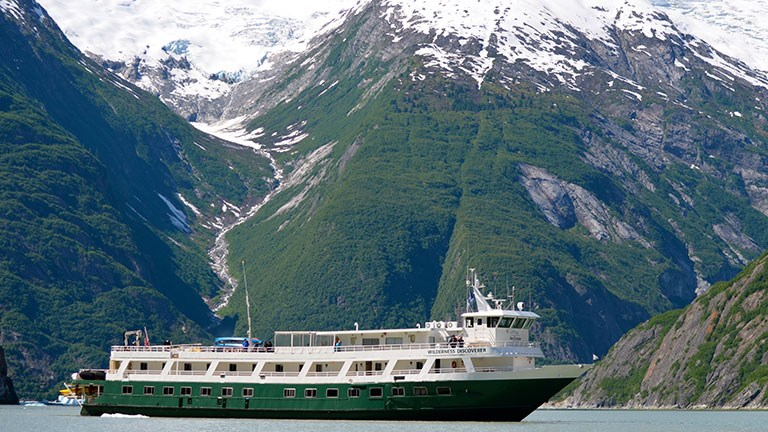 Dan Blanchard, CEO of UnCruise Adventures, says his company has enjoyed a recent surge in U.S. seniors looking to book trips to Alaska this summer