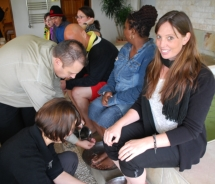 Dr. Fish Pedicure without the laughter // (c) 2010