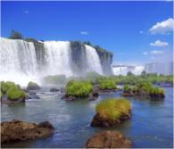 Iguazu Falls, located in both Argentina and Brazil, are one of part of Senior Editor Skye Mayring's dream trip to South America // © iStock.com