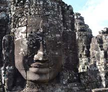 Bayon Temple in Cambodia's Angkor Archaeological Park // (c) 2012 Skye Mayring