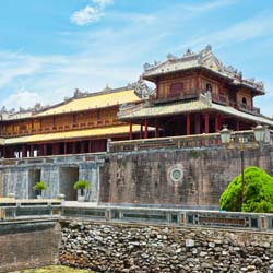 The Hue Citadel encompasses the Forbidden Purple City and the Imperial City. // © 2013 Thinkstock