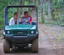 Take an Off-Road Tour. Lanai Grand Adventures // © 2012 Hawaii Tourism Authority/LHP