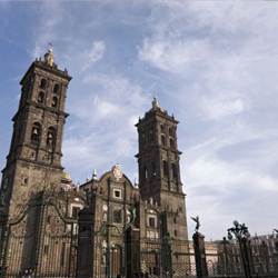 Puebla's Cathedral is one of the city's main cultural and architectural gems. // © Mexico Tourist Board