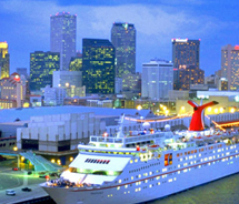 Carnival Cruises Lines and New Orleans will continue their partnership for at least three years. // © New Orleans Convention and Visitors Bureau