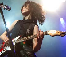 St. Vincent was one of the headliners at Tennessee's Bonnaroo Music and Arts Festival last summer. // © 2012 Morgan G. Harris