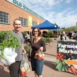 The Old Strathcona Farmers' Market // © 2013 Government of Alberta