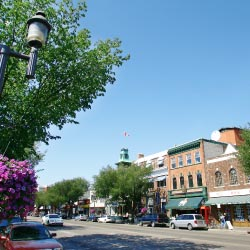 Old Strathcona features funky shops in historic buildings. // © 2013 Edmonton Tourism
