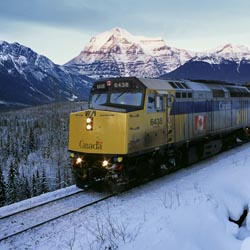 VIA Rail Canada has a number of great trips throughout Canada. // (c) 2013 VIA Rail Canada
