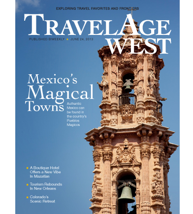 June 24, 2013 Issue Cover Image // (c) 2013 TravelAge West