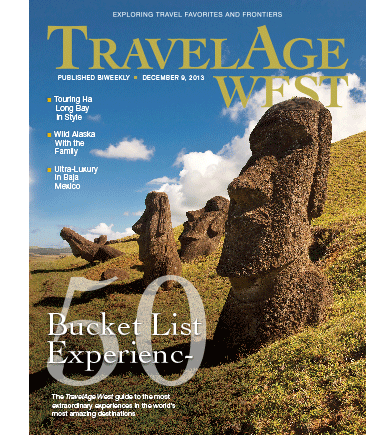 December 9 Issue Cover Image // (c) 2013 TravelAge West