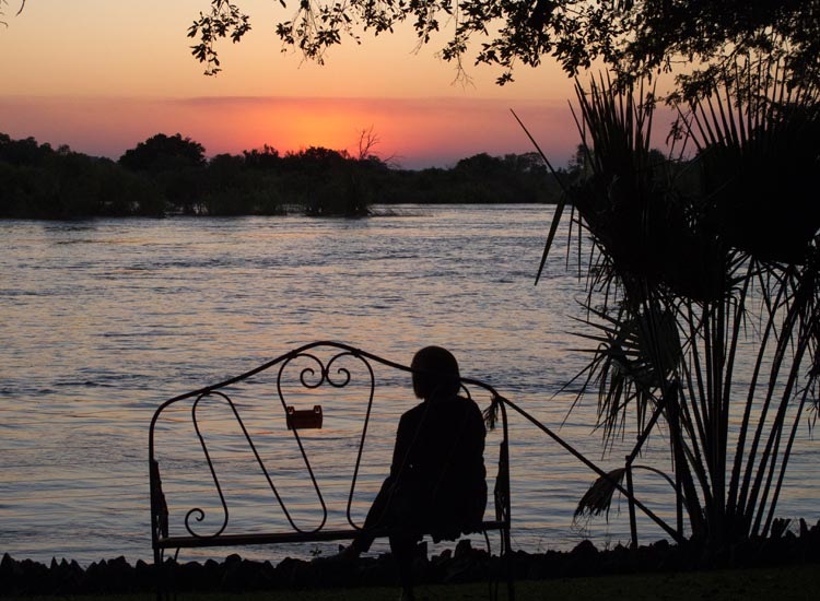 The Zambezi River // (c) Janice Mucalov