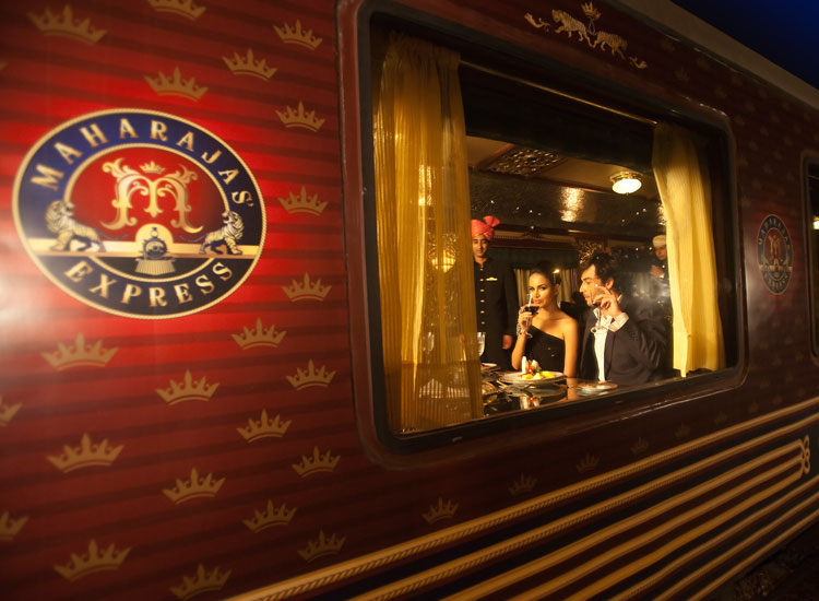 Maharajas' Express // (C) 2013 Train Chartering and Private RailCar