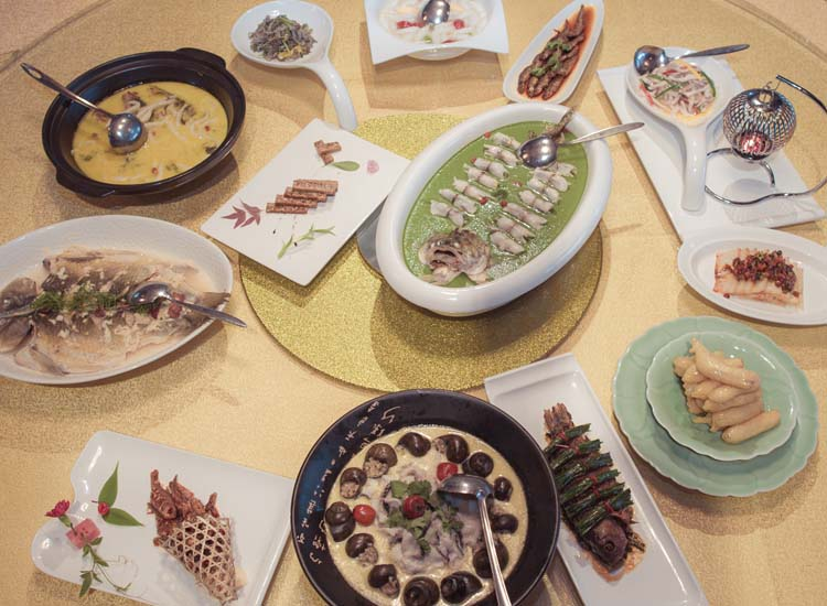 At a traditional fish feast, every dish is made with fish — even dessert. // © 2014 Hangzhou Tourism Commission