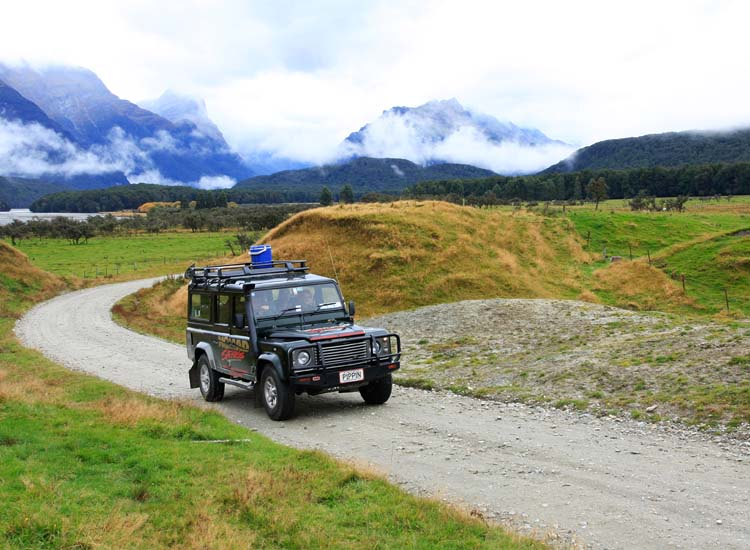 "Among Nomad Safaris' film-inspired excursions, the ""Safari of the Scenes"" tour in Glenorchy takes visitors to multiple filming locations from ""The Lord of the Rings"" and ""The Hobbit."" // © 2014 Nomad Safaris"