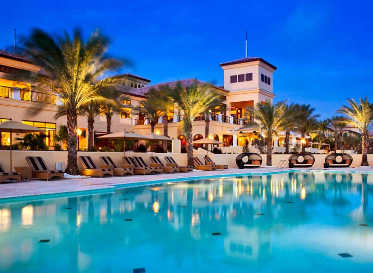 Curacao's Santa Barbara Beach & Golf Resort features two pools overlooking the Caribbean Sea. // © 2014 Santa Barbara Beach & Golf Resort