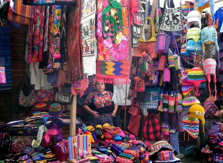 Chichicastenango is one of the largest and liveliest market towns in Central America, highlighting the myriad of Maya textile designs. // (c) 2013 ASTA YPS