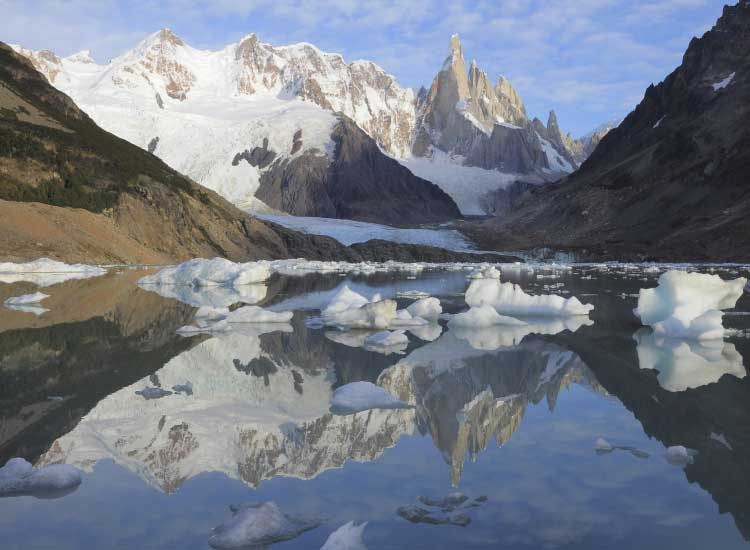Los Glaciares National Park is featured on some tours. // © 2013 Thinkstock
