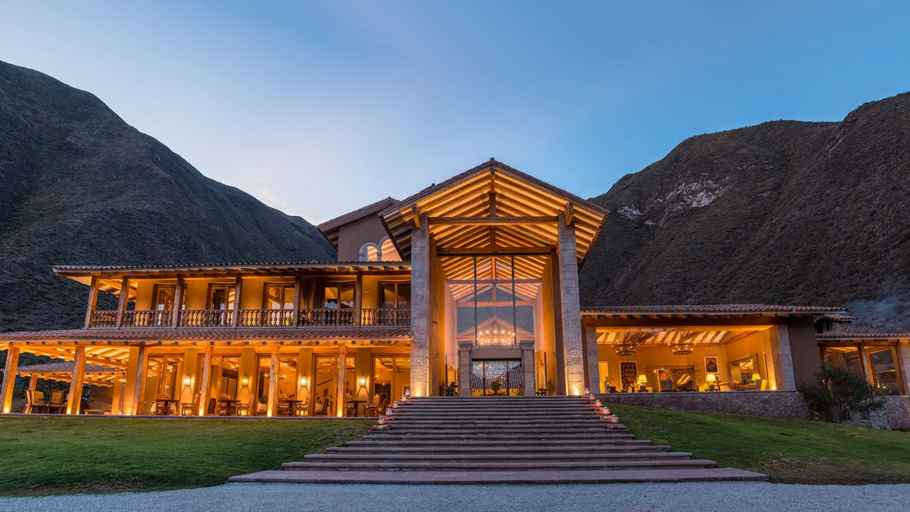 The Inkaterra Hacienda Urubamba is a luxury option in Peru's Sacred Valley.