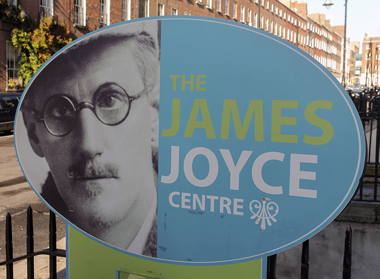 Go on a walking tour or attend a lecture about modernist master James Joyce at the James Joyce Centre. // © 2014 Creative Commons user guerrierigiorgio