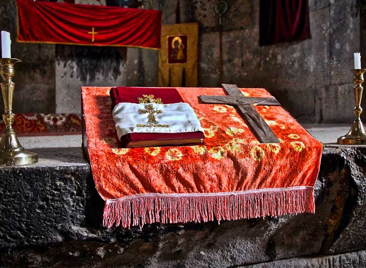 The monasteries of Haghpat and Sanahin are one of Armenia's many UNESCO World Heritage sites. // © 2014 Devin Galaudet