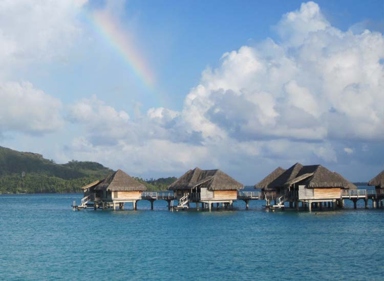 A honeymooner's dream, Bora Bora is widely considered to be one of the best islands in the world. // © 2014 Skye Mayring