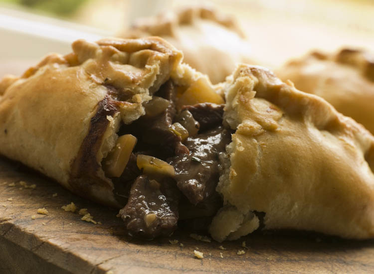 The traditional Cornish pasty, which has Protected Geographical Indication (PGI) status in Europe, accounts for six percent of Cornwall's food economy. // © 2014 Thinkstock