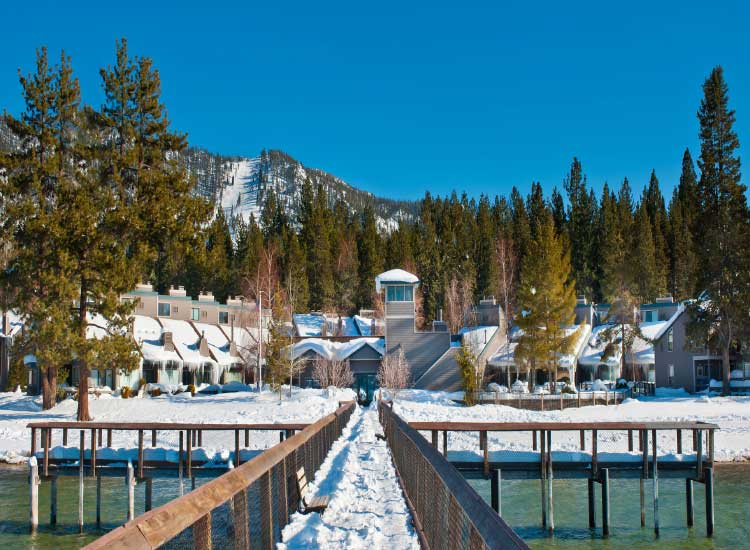 Aston Lakeland Village, Lake Tahoe // © 2013 Aston Hotels & Resorts