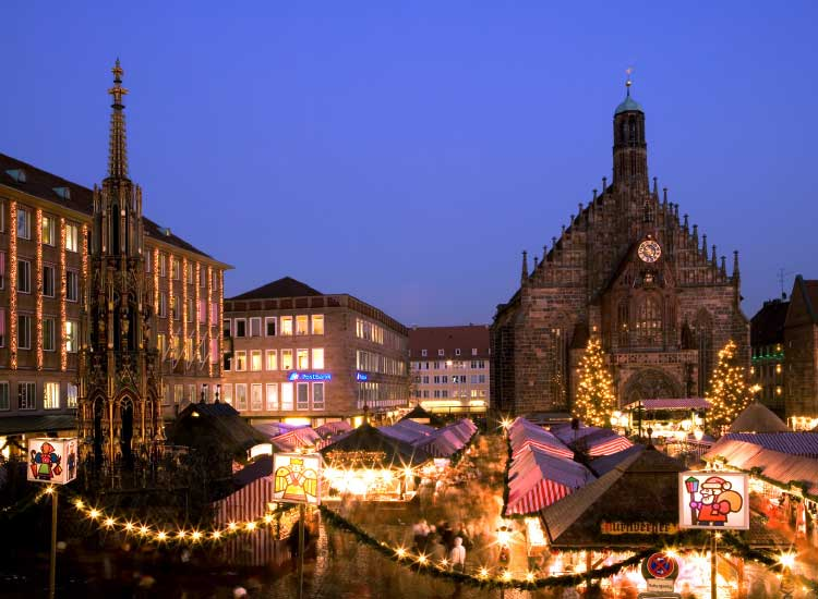 The European Christmas markets are great for families // © 2013 Uniworld Boutique River Cruise Collection