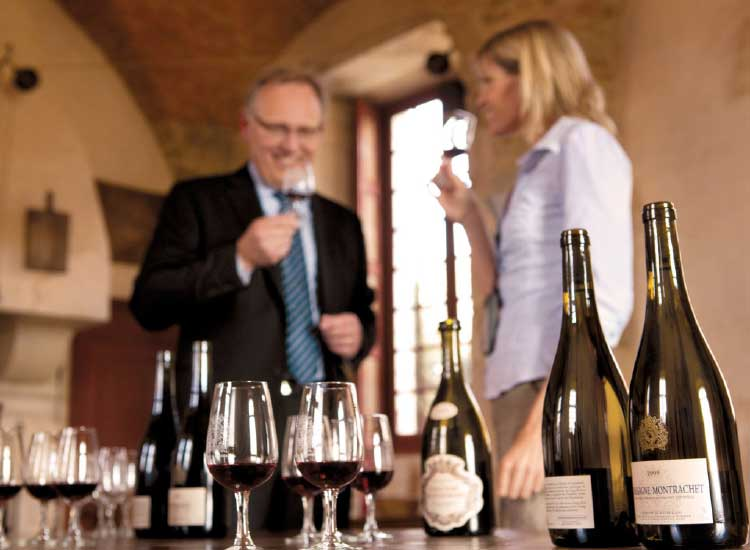 Excursions in Europe include wine tasting. // © 2013 Uniworld Boutique River Cruise Collection