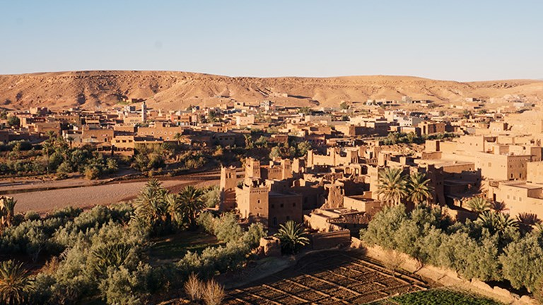 "Guests may recognize Ait Benhaddou from movies such as ""Gladiator"" and television series including ""Game of Thrones."" // © 2018 Valerie Chen"