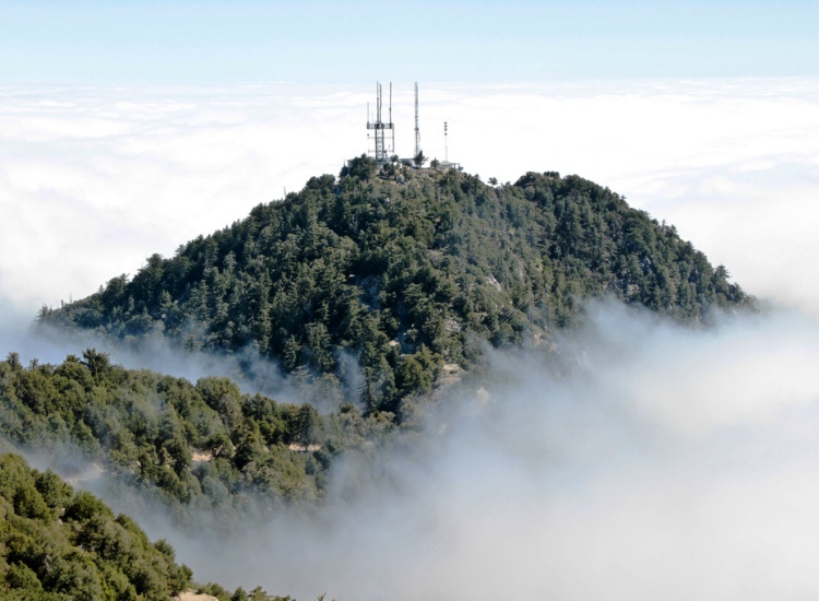 Visitors can check out the historical Mount Wilson Observatory along the Angeles Crest Byway. // © 2014 Creative Commons user puck90