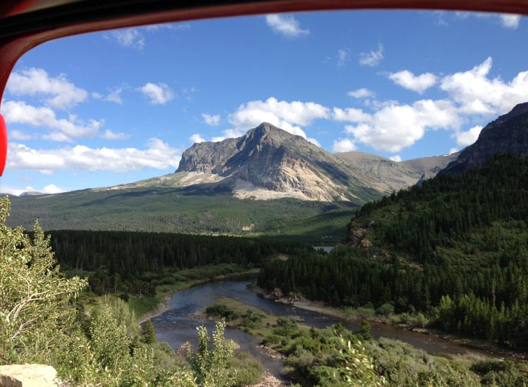 The Glacier National Park itinerary is the most popular offering from Amtrak Vacations. // © 2014 Amtrak Vacations
