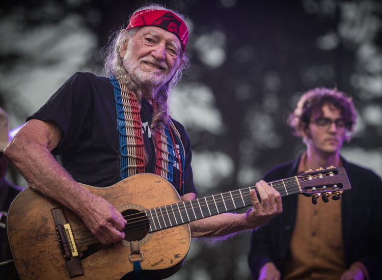 Willie Nelson performed with his son. // (c) 2013 Josh Withers
