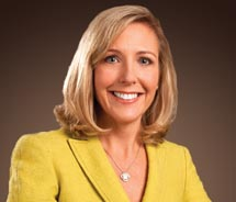 Ellen Bettridge, president of Silversea Cruises. // c 2012 Silversea Cruises