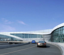 A rendering of the Maynard H. Jackson Jr. International Terminal at Hartsfield-Jackson Atlanta International Airport // (c) 2012 Hartsfield-Jackson...