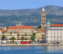Croatia is the top up-and-coming destination in Europe, according a recent TravelLeaders survey. Harbor and promenade, Split town, Croatia // (c) 2013...