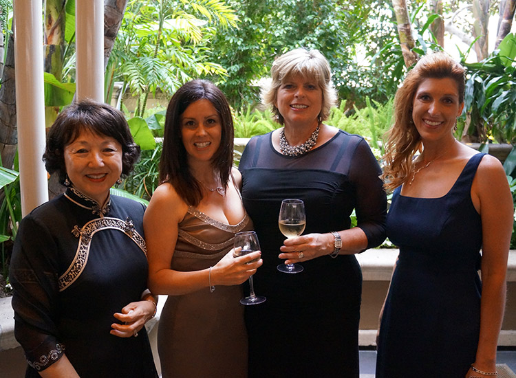 L-R: Theresa Lock, Donna Cook, Denise Schaefer and Wendi Adamson