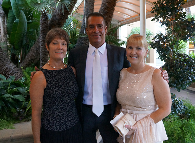 Laurie Doerschlen,TravelAge West, Greg Bernd, Classic Vacations and Julie Zadeh, Hawaii Visitors & Convention Bureau