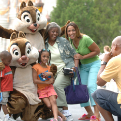 Some packages include meet and greets with characters. // © 2014 Disney