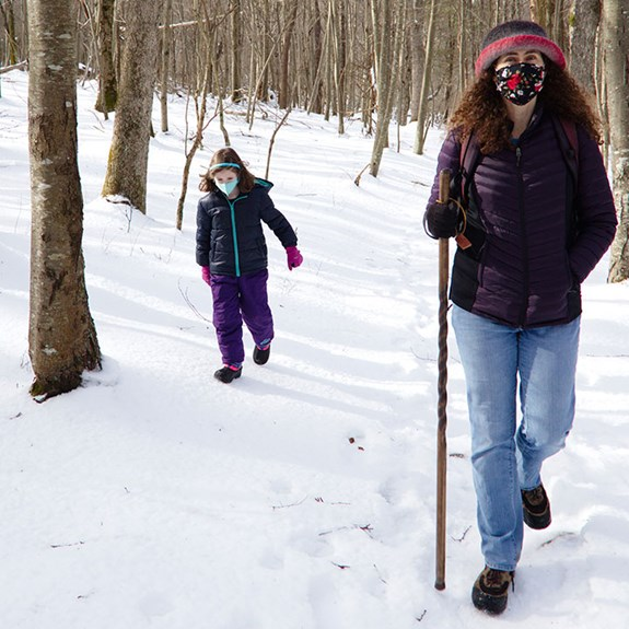 Family Vacation Journal: A Winter Hike in Shenandoah National Park