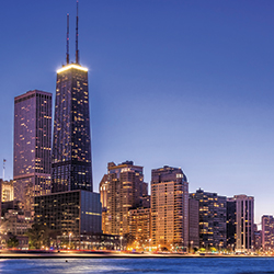 Kids will love taking in views of the Chicago skyline. // © 2013 Thinkstock
