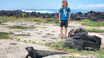 Family Vacation Journal: A Birthday Trip to the Galapagos Islands